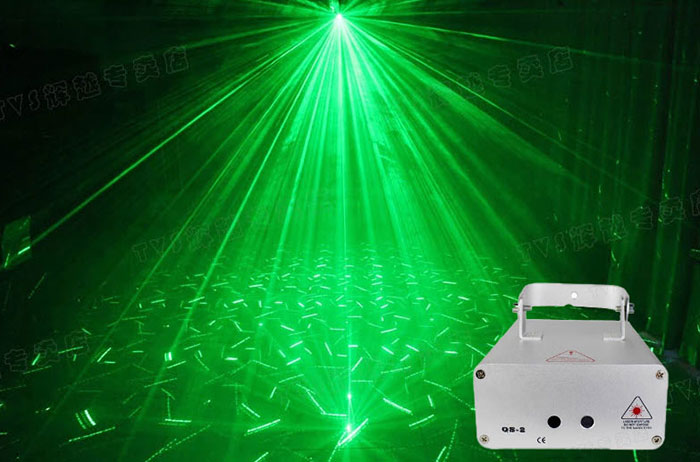 Laser Stage Green & Red laser light disco lights party